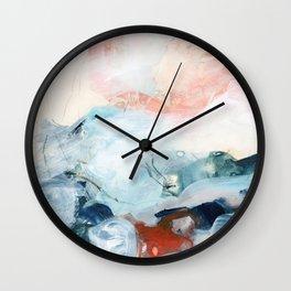 abstract painting III Wall Clock