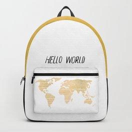 Hello World Backpack
