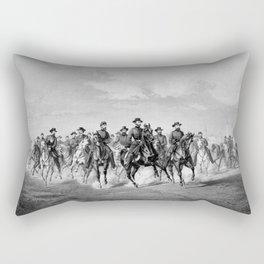 General Sherman At Savannah Georgia Rectangular Pillow