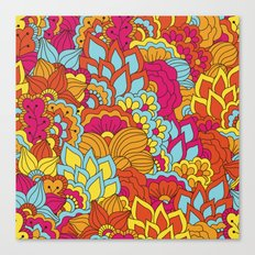 Shabby flowers #19 Canvas Print