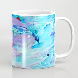 Swimming into the Blue Coffee Mug