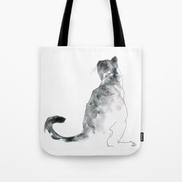 Cat at the Windowsill Tote Bag