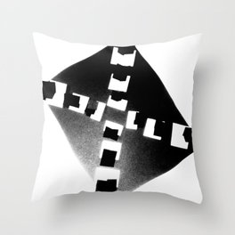 the light that shines Throw Pillow