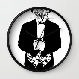 Cat in the Hat Wall Clock