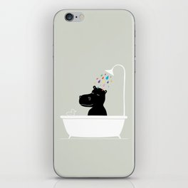 The Happy Shower iPhone Skin