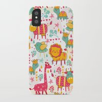 wildlife iPhone & iPod Cases featuring Wildlife by One April