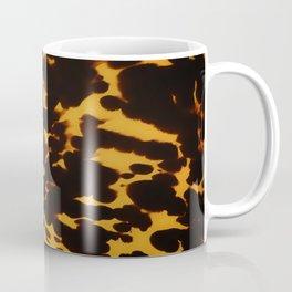 Art Deco polished Tortoise Shell Coffee Mug