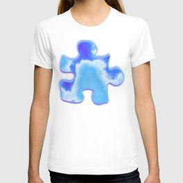 powder blue and indigo sky T-shirt