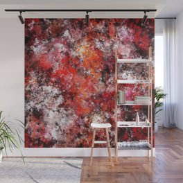 The red sea foam Wall Mural
