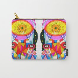 Psychedelic Wrestler Carry-All Pouch