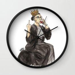 Queen RBG Wall Clock