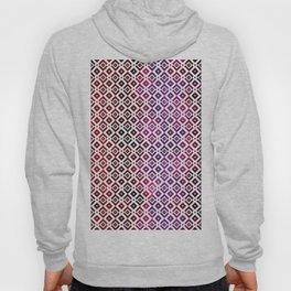 Squared Purple Tiles Hoody