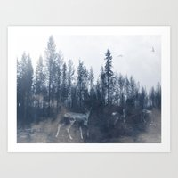 After the fire V Art Print