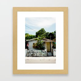 A Home In Key West. Framed Art Print