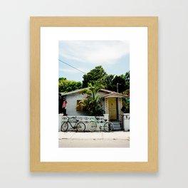 A Home In Key West. Framed Art Print