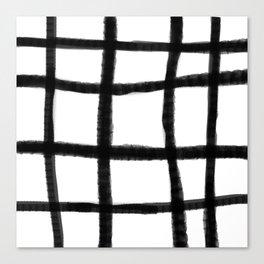 Wobble Grid Canvas Print