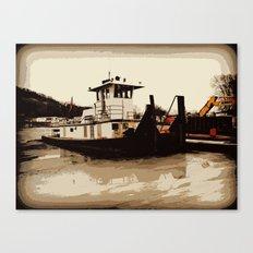 Tugboat II  Canvas Print