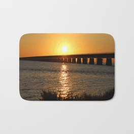 7 Mile Bridge Bath Mat
