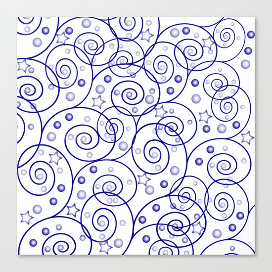 Abstract pattern. Canvas Print