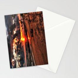 Sunset Playa Negra Costa Rica Stationery Cards