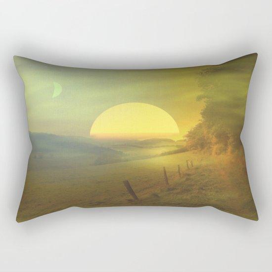 Landscape hike Rectangular Pillow