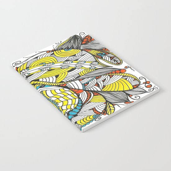 Leaf Bouquet Notebook