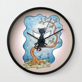 The guardian (in memory of Tuss 1993-2012) II Wall Clock