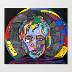 Psychedelic Lennon Canvas Print