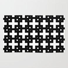 Telder Black & White Rug