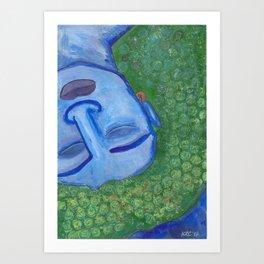 Sleeping Deva Art Print