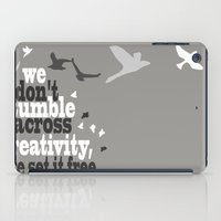 creativity iPad Cases featuring Creativity by Celina Lopez