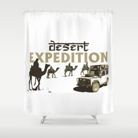 desert Shower Curtains featuring Desert by 4Explorers