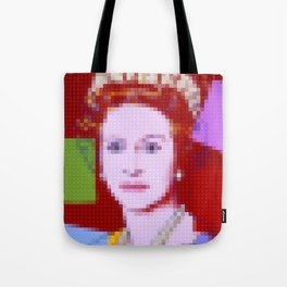 Lego: Queen Elizabeth II Tote Bag