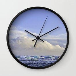 Jokulsarlon Lagoon Beach 07 Wall Clock