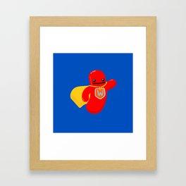 Super Wiener Framed Art Print