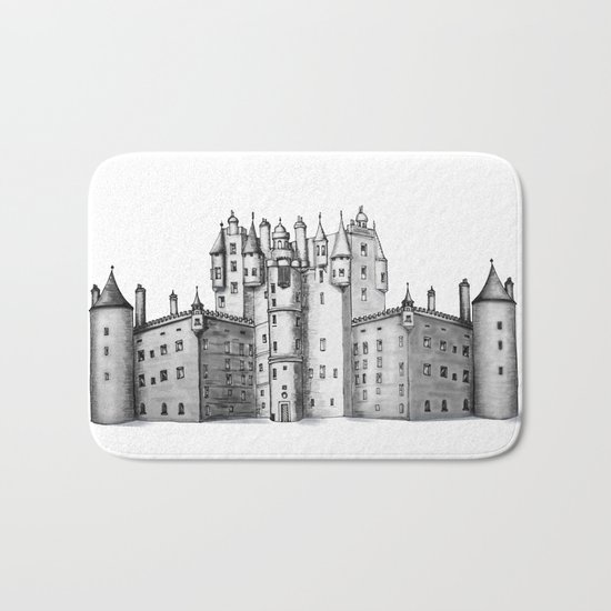 huge castle Bath Mat