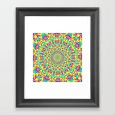 Summer Mandala 6 Framed Art Print