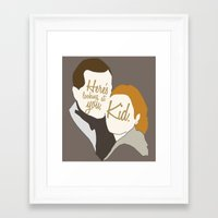 casablanca Framed Art Prints featuring Casablanca by Swell Dame
