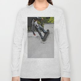 Up the Ramp  - Skateboarder Long Sleeve T-shirt