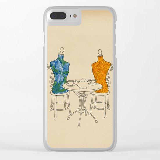 High Tea Clear iPhone Case