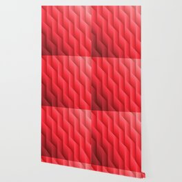 Gradient Red Diamonds Geometric Shapes Wallpaper