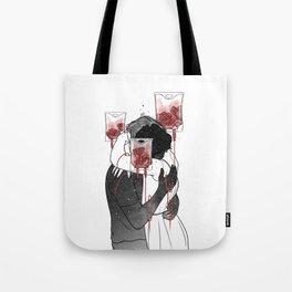 Love grow roses. Tote Bag
