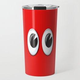 Eyes on the red skin Travel Mug