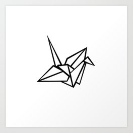 origami n1 Art Print
