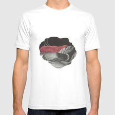 the hand SMALL White Mens Fitted Tee