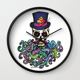 Headless Horseman's Head - The Tentacle Collection Wall Clock
