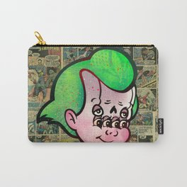 Cupid Face Carry-All Pouch