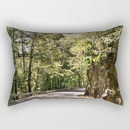 Mountain Highway Rectangular Pillow