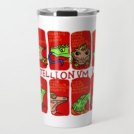 Of the Lives of the Lizard Emperors Travel Mug