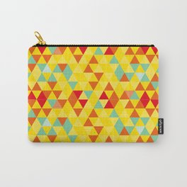 Colored triangles Carry-All Pouch